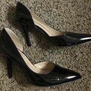 Patent Leather Nine West Heels